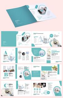 净水器宣传册设计模板