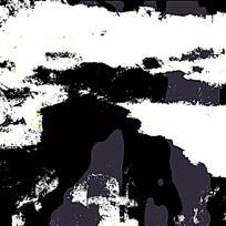 时尚黑白户外迷彩印花