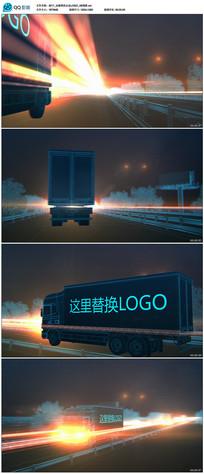 运输物流企业AE模板
