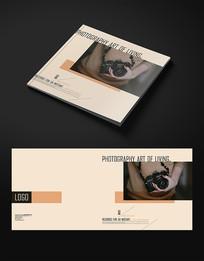 简约摄影宣传画册封面设计