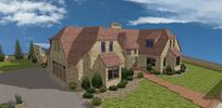 英式房屋建筑SU模型