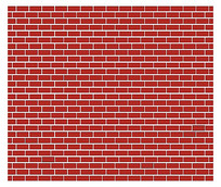 复古红砖背景模板
