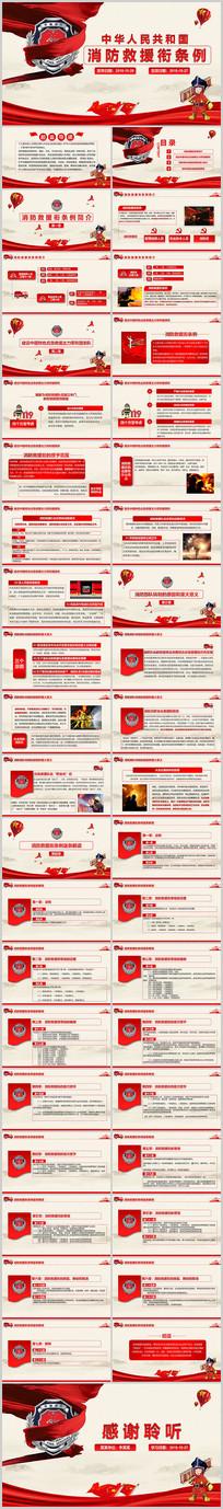 消防救援衔条例解读学习PPT