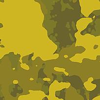 创意棕黄护外迷彩图案