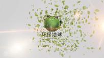 绿色环保公益片头AE模板