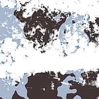 时尚黑蓝迷彩装饰底纹
