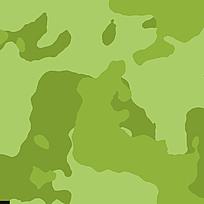 时尚绿色迷彩丛林印花背景 JPG