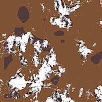 时尚棕白野战装饰迷彩