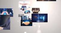 科技图片汇集AE模板