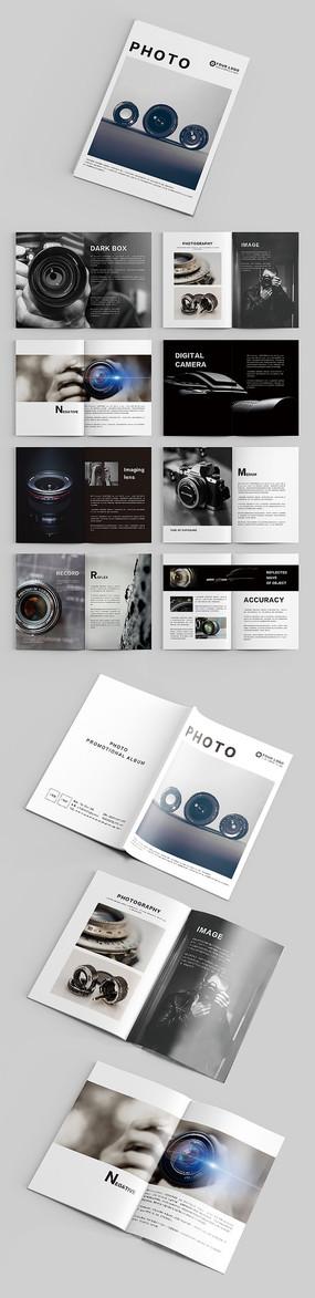 高端时尚摄影器材企业品牌画册