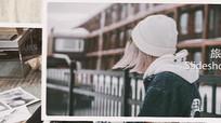AE清新唯美写真相册模板