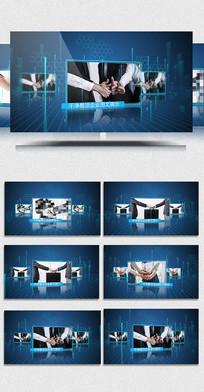AE天蓝科技商务宣传展示视频
