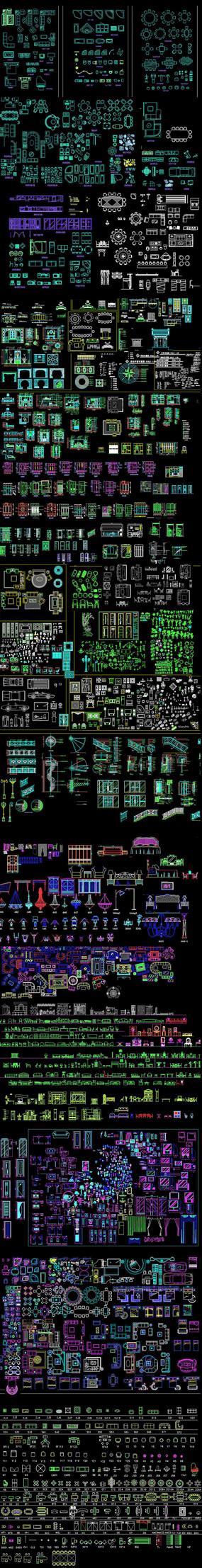 CAD装饰素材集
