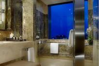 豪华宾馆卫生间设计