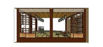 日式客厅场景