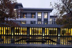 别墅酒店建筑现代中式设计
