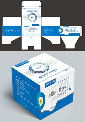 科技蓝牙音响包装设计