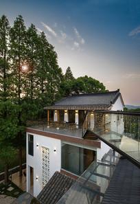 日式风民宿建筑意向 JPG