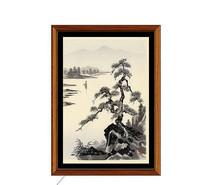 日式植物装饰画