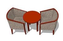 日式座椅组合