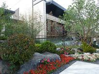 庭院绿化花卉景观