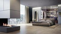 现代风格卧室套房