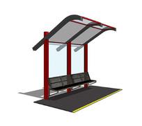 小型公交站台设计
