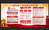 中国消防救援衔条例宣传展板