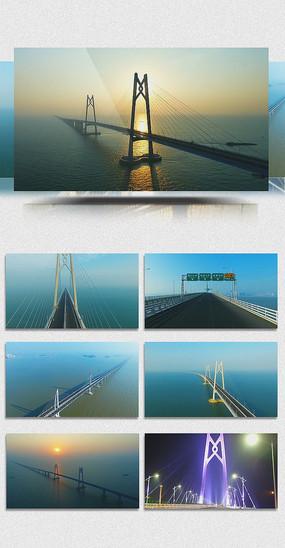 港珠澳大桥伟大工程航拍视频 mp4
