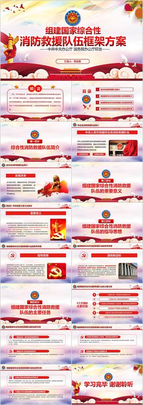 学习解读消防体制改革PPT pptx