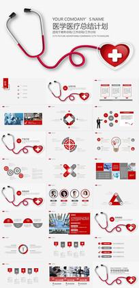 医学医疗总结PPT模板
