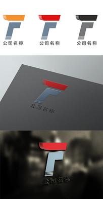 F字母变形公司logo