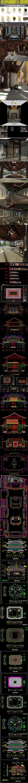 全套古建寺庙佛像CAD和实图