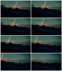 日夜天空替换背景视频