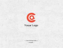 字母CA的logo设计