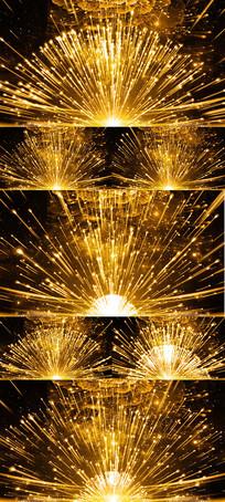 金色粒子晚会LED舞台