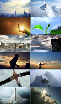 企业文化精神梦想宣传视频素材