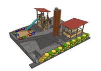 儿童活动区域场景