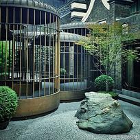 鸟笼造型中式庭院小品 JPG