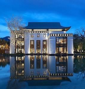 新中式别墅建筑