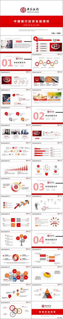 中国银行金融理财工作总结PPT