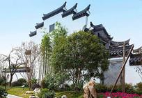 中式公园植物组团设计