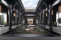 中式住宅庭院