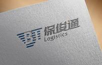 大气物流公司logo