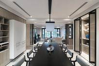 典雅的现代简约风格的餐厅