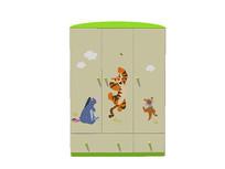 动漫印花儿童衣柜