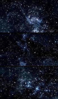 星空穿梭动态视频背景49秒
