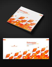 创新橙色企业宣传画册封面设计