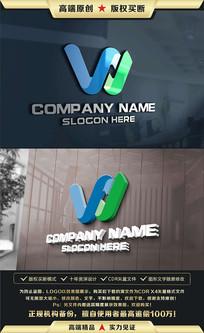 W字母标志W字母LOGO设计