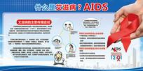 国际艾滋病日预防艾滋病展板